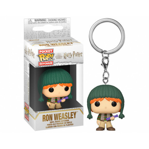 Брелок Рон Уизли || Funko POP! Keychain Holiday Ron Weasley (Harry Potter)