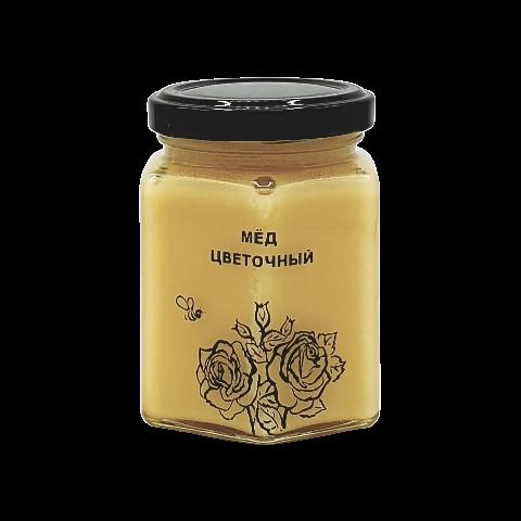 Мёд натуральный ЦВЕТОЧНЫЙ, 250 гр