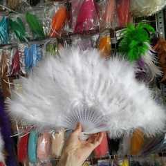 Веер из перьев марабу  ( выбрать цвет)