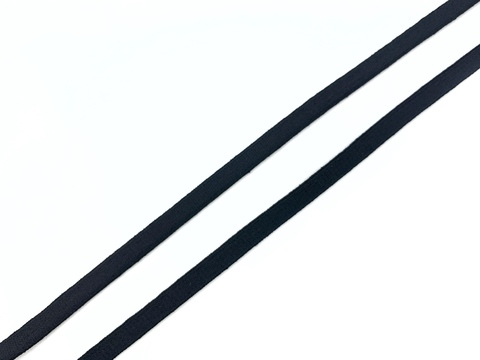 Резинка бретелечная черная 5 мм Lauma
