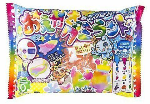 Набор Сделай Сам Kracie для изготовления разноцветной жевательной конфеты Гумирандо 27 гр