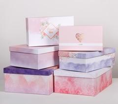 Набор подарочных коробок 6 в 1 «Нежно‒розовый», 20 х 12,5 х 7,5 - 32,5 х 20 х 12,5 см, 1 набор.