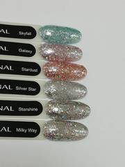 MONAMI Гель-лак Diamond Galaxy, 5 гр (платиновый)