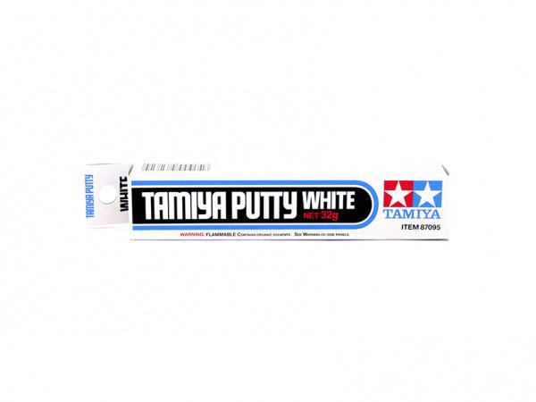 Расходные материалы 87095 Tamiya Шпатлевка белая (Basic Type) туба 32 гр. 87095.jpg