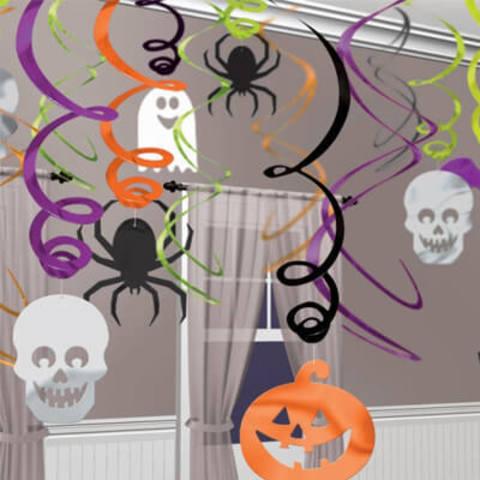 Спираль Halloween 30 штук