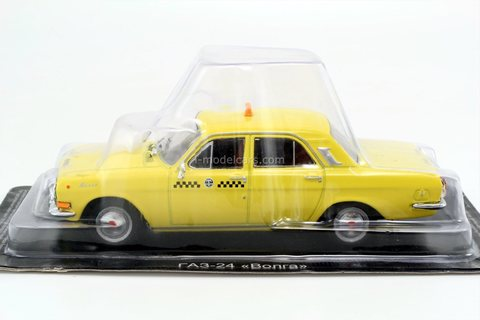 GAZ-24-01 Volga Taxi (roof light) 1:43 DeAgostini Auto Legends USSR Taxi #3