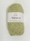 Пряжа Infinity Alpaca 0723 оливковый меланж