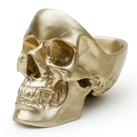 Органайзер для мелочей Skull, золотой