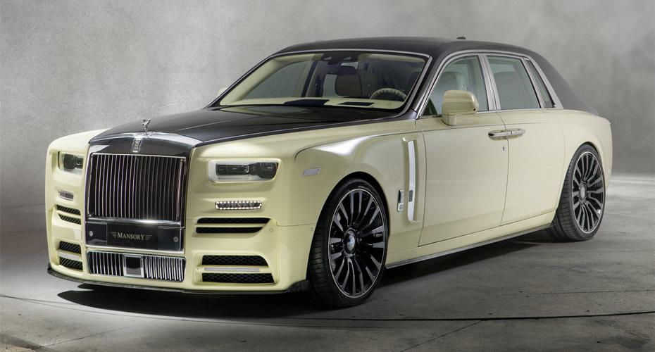 Обвес Mansory для Rolls-Royce Phantom 2