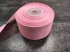 Лента репсовая 4см*25ярд (Розовый №253)