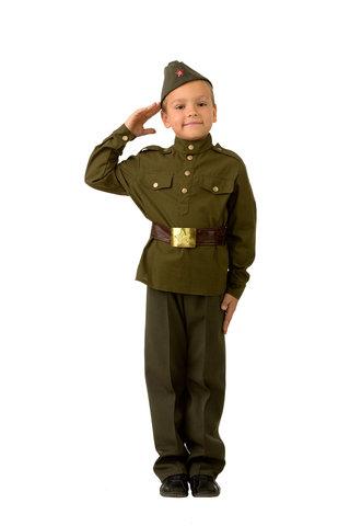 Купить костюм Солдат ВОВ для мальчика - Магазин