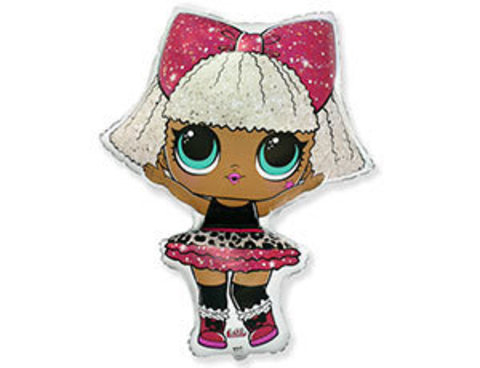 воздушный шар кукла ЛОЛ DIVA