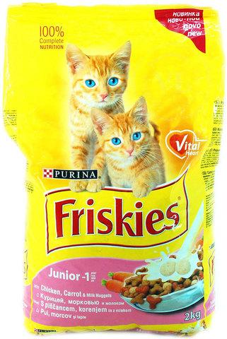 Friskies С курицей для Котят 2  кг