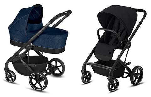 Детская коляска Cybex Balios S Denim Blue + Balios S Lux BLK