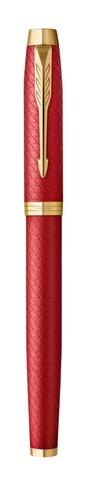 Ручка перьевая Parker IM Premium F318  Red GT, F123
