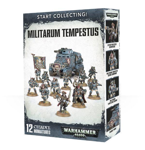 Start Collecting! Militarum Tempestus. Коробка