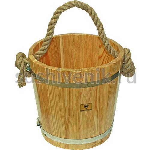 Ведро для бани Bentwood, 15 л (натуральный)
