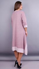 Адажио. Прелестное платье больших размеров. Пудра.