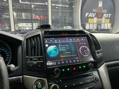 Штатная магнитола Toyota LC 200 (08-15) Android 9.1  4/64GB IPS DSP модель ZF-6025-DSP