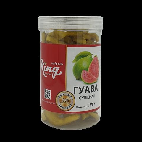 Гуава сушеная без сахара KING, 350 гр