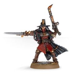 Inquisitor with Inferno Pistol & Power Sword