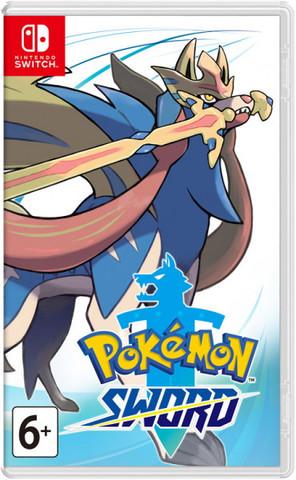 Pokemon Sword (Nintendo Switch, английская версия)