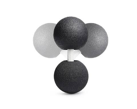 Массажный мяч двойной с гибкой планкой BLACKROLL® DUOFLEX 12 см