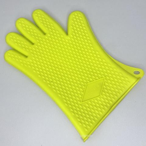 Перчатка кухонная резиновая