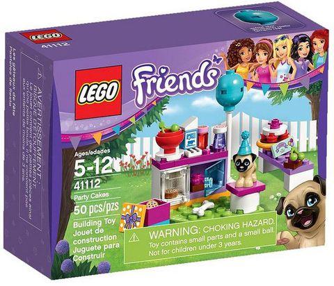 LEGO Friends: День рождения: Тортики 41112 — Party Cakes — Лего Друзья Продружки Френдз