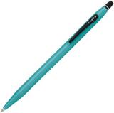Ручка гелевая Cross Click без колпачка с тонким стержнем Pure Teal (AT0625-5)
