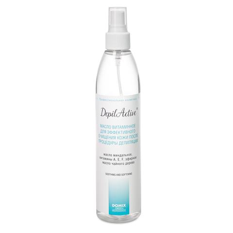 Масло витаминное для эффективного очищения кожи после процедуры депиляции, 320 мл