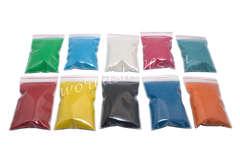 Набор из цветного песка для декора купить