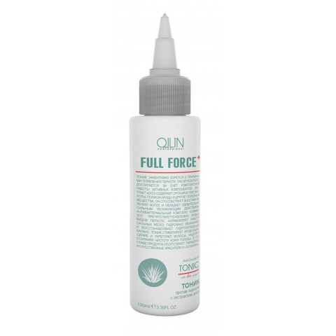 OLLIN full force тоник против перхоти с экстрактом алоэ 100мл