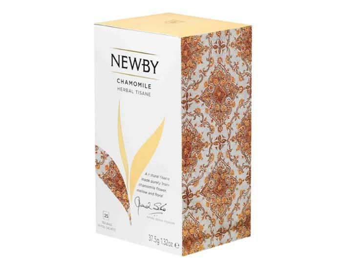 Чай травяной в пакетиках Newby Chamomile, 25 пак/уп