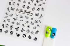 Наклейки NogteModa №044