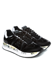 Комбинированные кроссовки Premiata Conny 4086 на шнуровке
