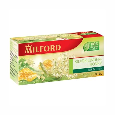 Чай MILFORD Травяной Липа Мед 20*2 г пак ГЕРМАНИЯ