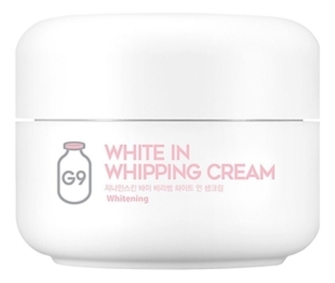 G9SKIN White In Whipping Cream Крем с молочными протеинами 50гр
