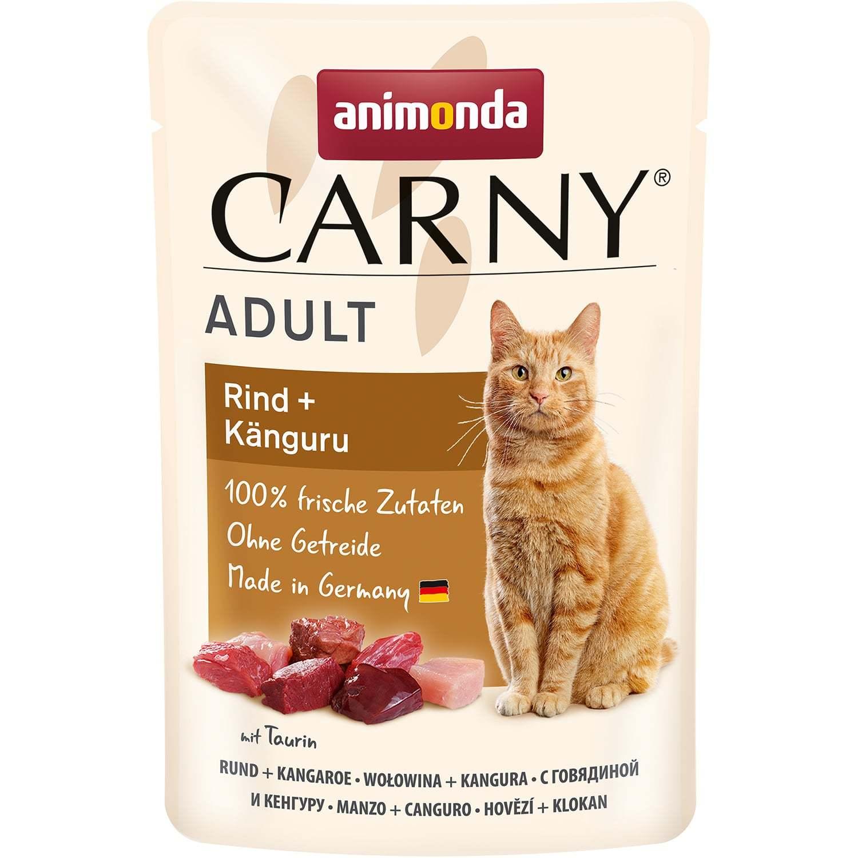 Купить Animonda CARNY Exotic Говядина с мясом кенгуру