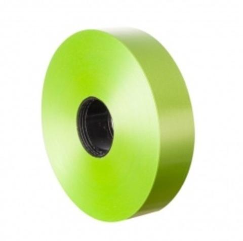 Лента полипропиленовая (размер: 30 мм х 100 м), цвет: зеленое яблоко