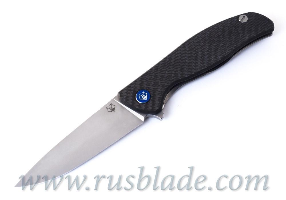 Shirogorov Hati S30V CF knife - фотография