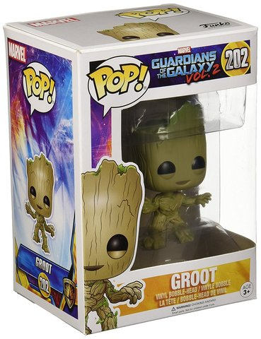 Фигурка Funko POP! Bobble: Guardians O/T Galaxy 2: Groot 13230