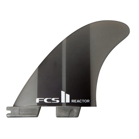 FCS II Reactor Neo Glass Tri Fins Charcoal Gradient