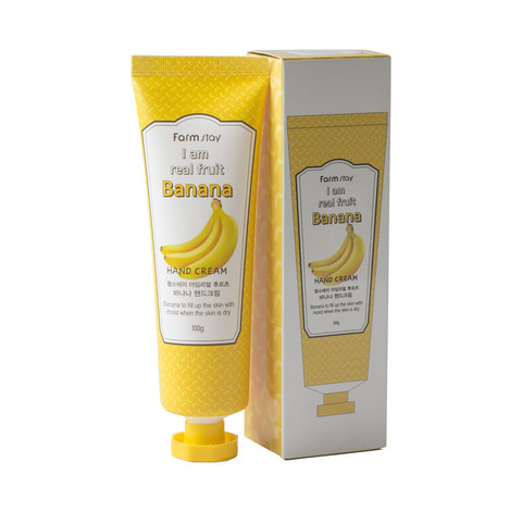 Крем для рук с экстрактом банана FarmStay Banana Hand Cream
