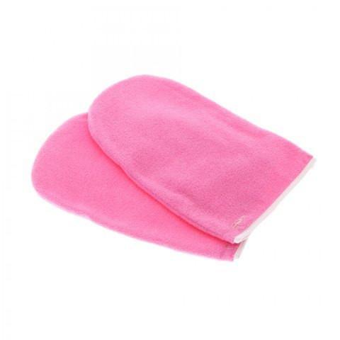 Утеплители для рук, розовые, 1 пара