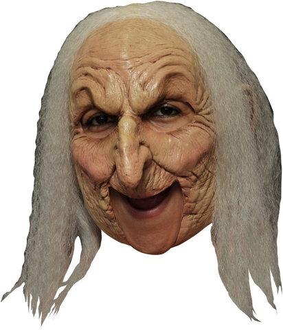 Маска Старая ведьма люкс (бабушка)