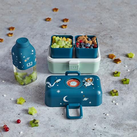 Ланч-бокс для детей в школу mb tresor cosmic blue контейнер для еды детский