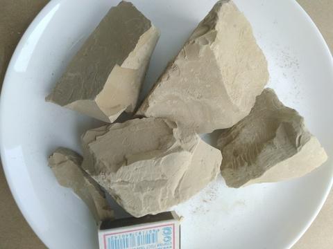Туркестан коричневая глина нечищенная