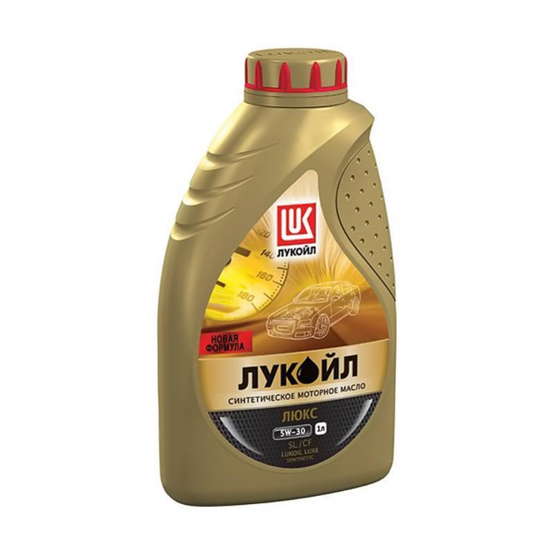 Лукойл Люкс SL/CF 5W30 Синтетическое моторное масло