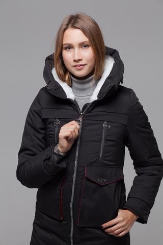 Куртка утепленная эко мехом оптом